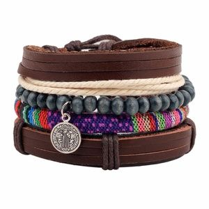 South America Style 4 layers Fashion Bracelets